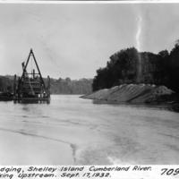 [Dredging, Shelley Island - Cumberland River]