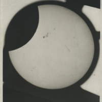 [Partial Solar Eclipse and Sunspots of November 23, 1946, 2 of 3]