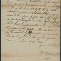 [Letter to Colonel David Henley]